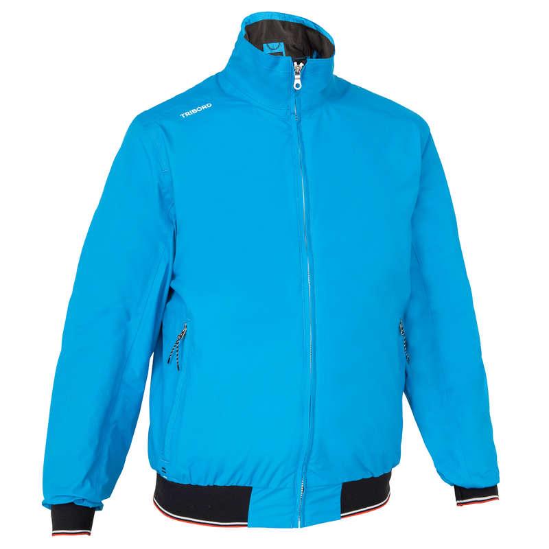 REGATTA RAINY WEATHER MAN CLOTHES Sailing - Race 100 Men's Anorak - Blue TRIBORD - Sailing Clothing