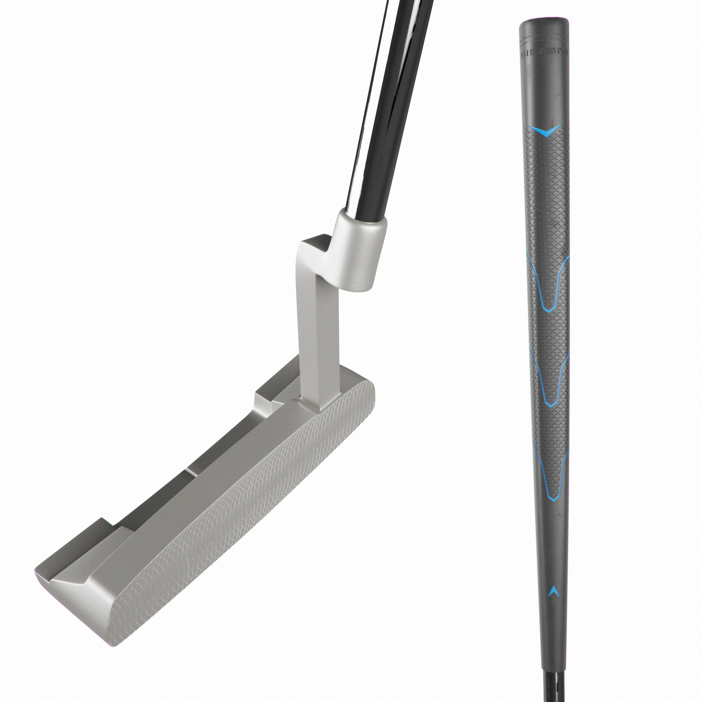 Putter de golf rectangular adulto diestro 500 34