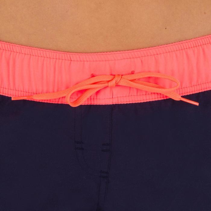 Boardshort femme TINI COLORB avec ceinture élastiquée et cordon de serrage