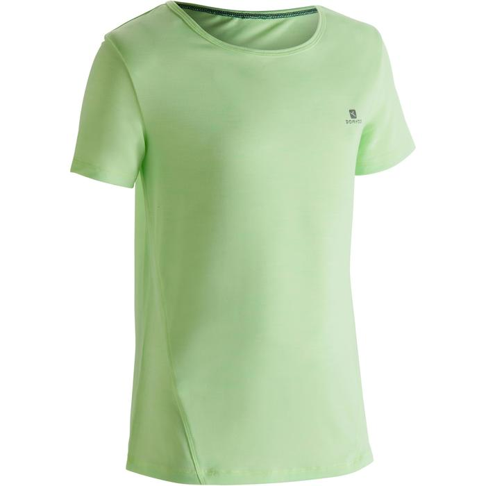 T-Shirt manches courtes S500 Gym Fille - 1302068