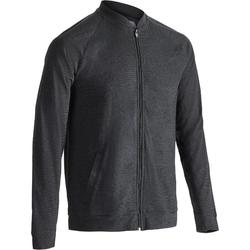Veste 100 Gym Stretching homme