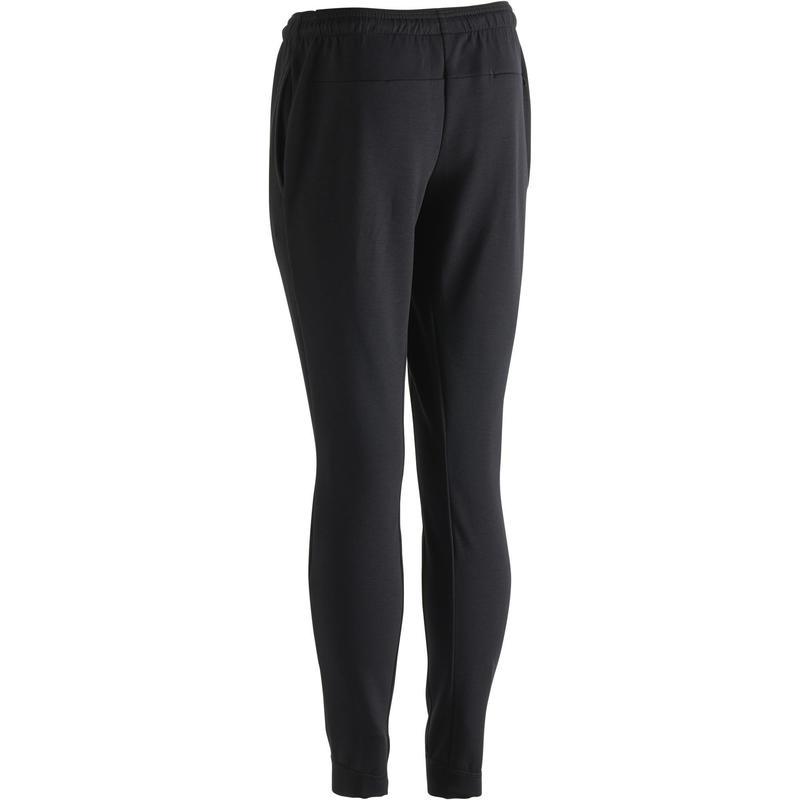 Pantalón 560 skinny de gimnasia y pilates negro hombre  c8bafeb8a1ff