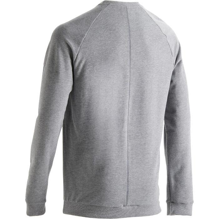 Sweatshirt 120 Training Herren hellgrau