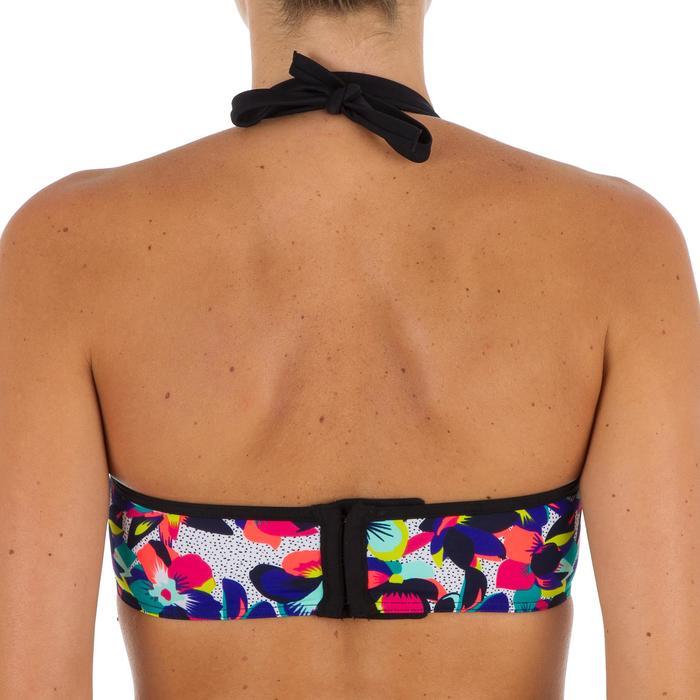Haut de maillot de bain femme bandeau avec coques et armatures LEA BALI - 1302127