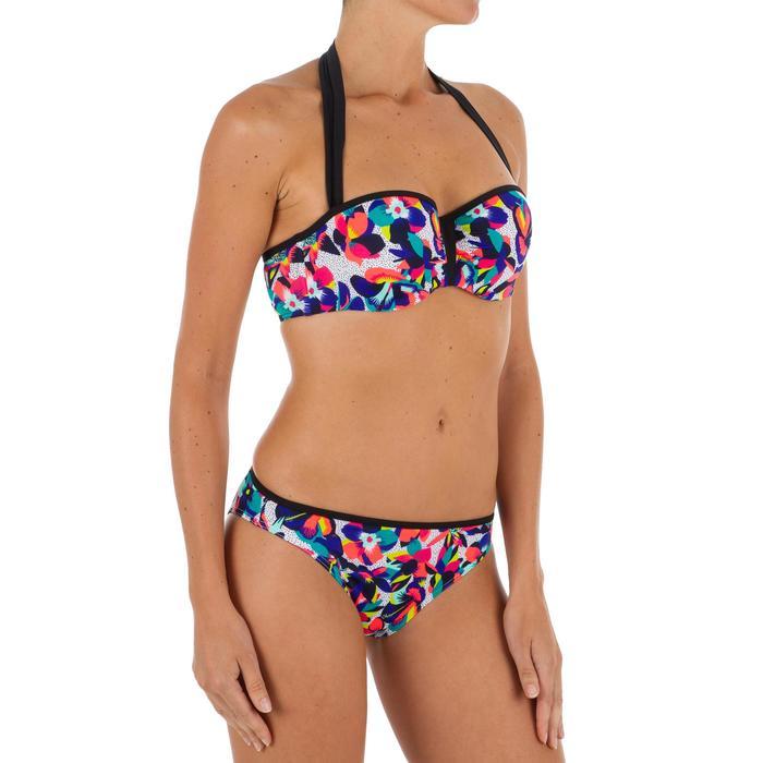 Haut de maillot de bain femme bandeau avec coques et armatures LEA BALI - 1302131
