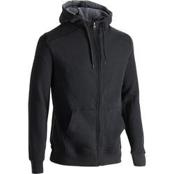 920 Hooded Gym & Pilates Jacket - Black