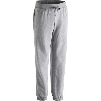 520 Regular-Fit Gym Stretching Bottoms - Grey
