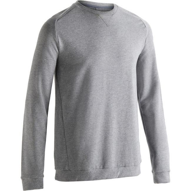 Men's Training Sweatshirt 120 - Light Grey