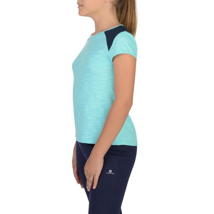 T-Shirt 500 manches courtes Gym Fille - 1302226