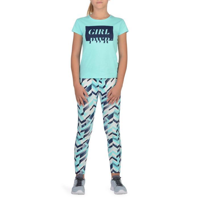 T-Shirt manches courtes 100 Gym fille imprimé - 1302233