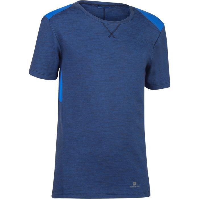 T-Shirt 500 manches courtes Gym garçon - 1302247