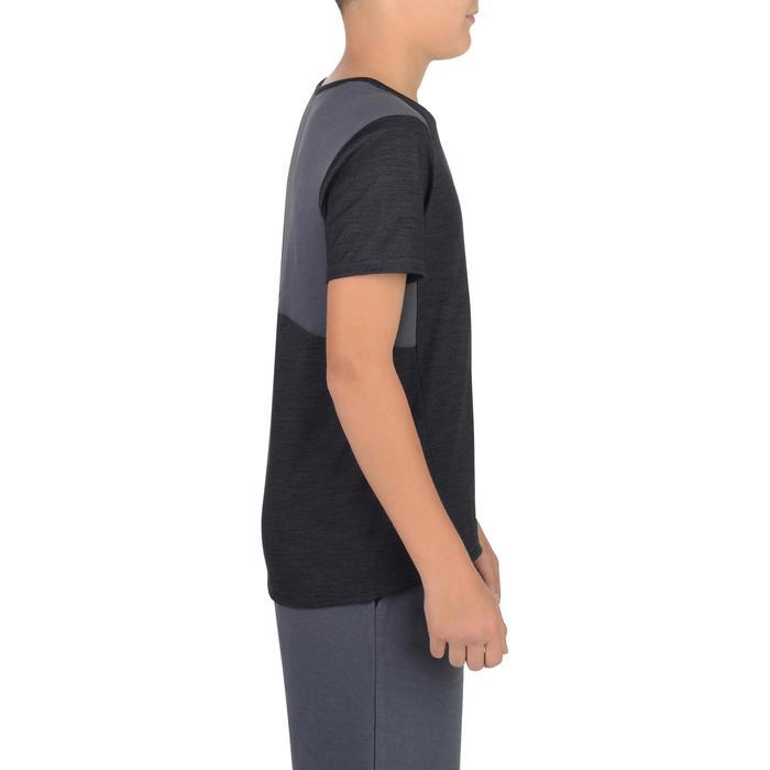 T-Shirt 500 manches courtes Gym garçon - 1302251