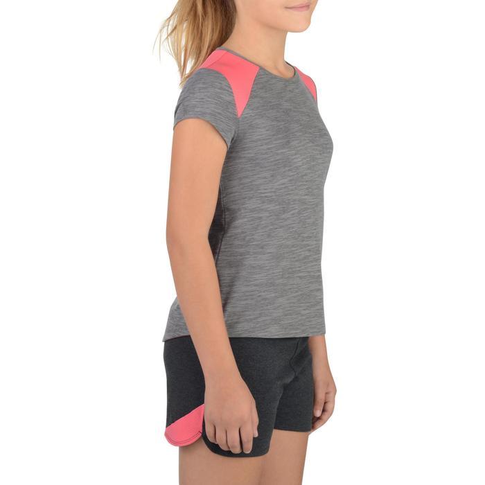 T-Shirt 500 manches courtes Gym Fille - 1302253