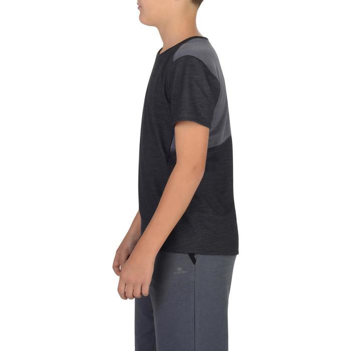 T-Shirt 500 manches courtes Gym garçon - 1302256