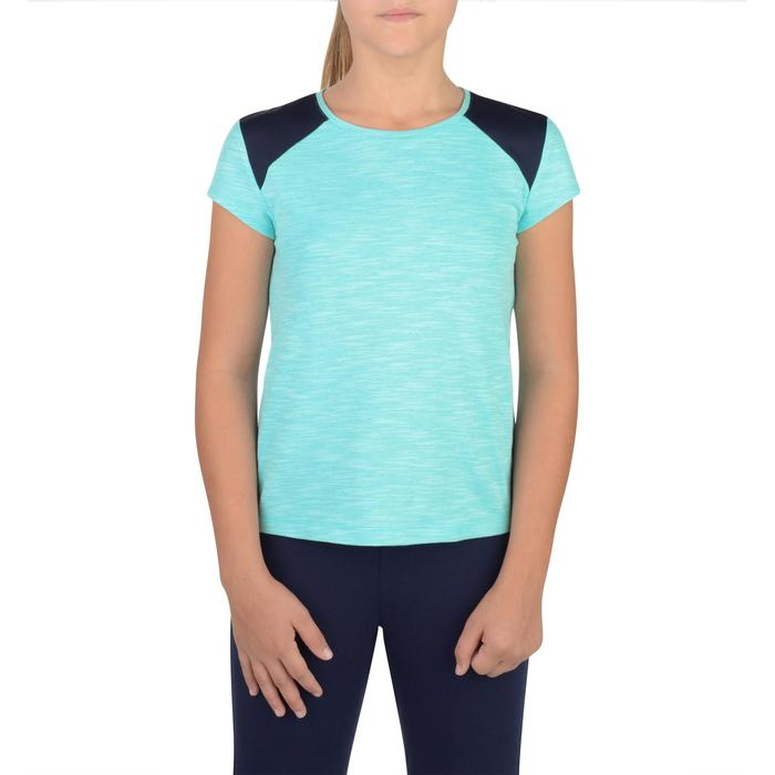 T-Shirt manches courtes 500 Gym fille - 1302261