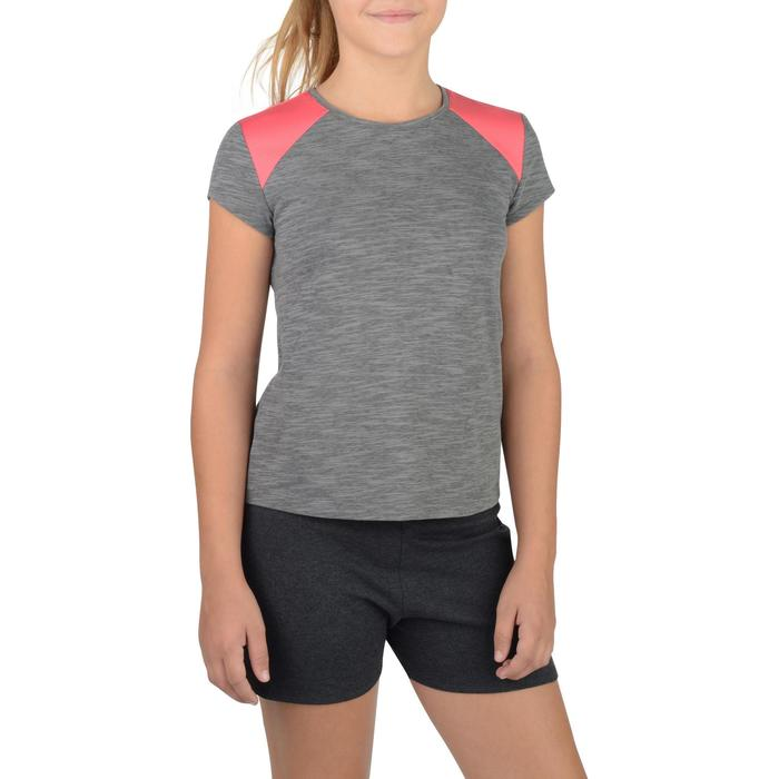 T-Shirt manches courtes 500 Gym fille - 1302263