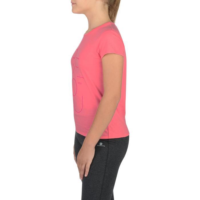 T-Shirt manches courtes 100 Gym fille imprimé - 1302264