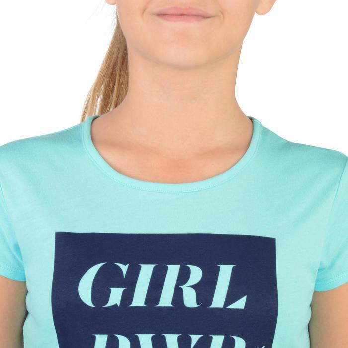 T-Shirt manches courtes 100 Gym fille imprimé - 1302276