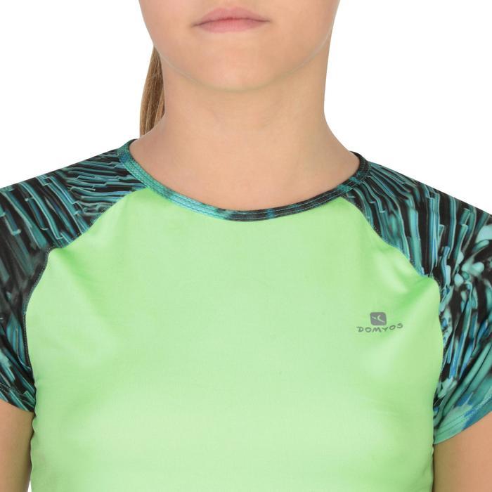 T-Shirt manches courtes S900 Gym Fille imprimé - 1302277