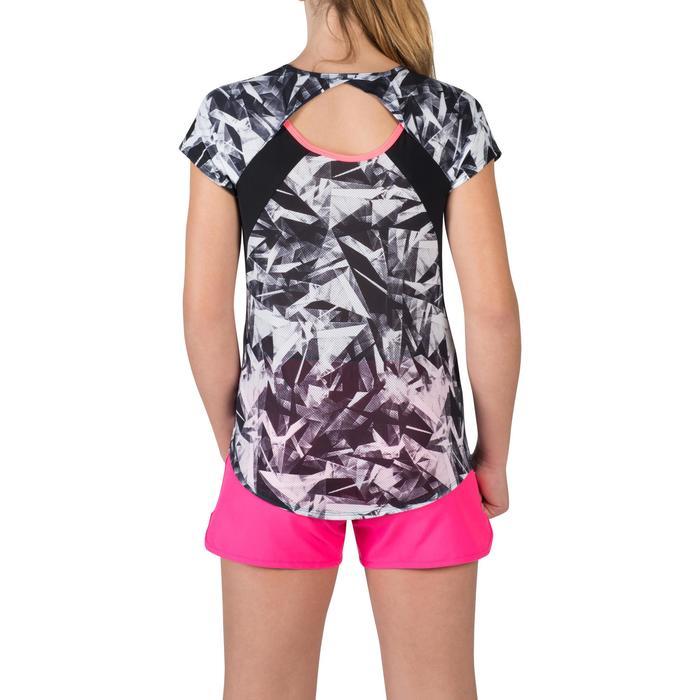 T-Shirt manches courtes S900 Gym Fille imprimé - 1302278