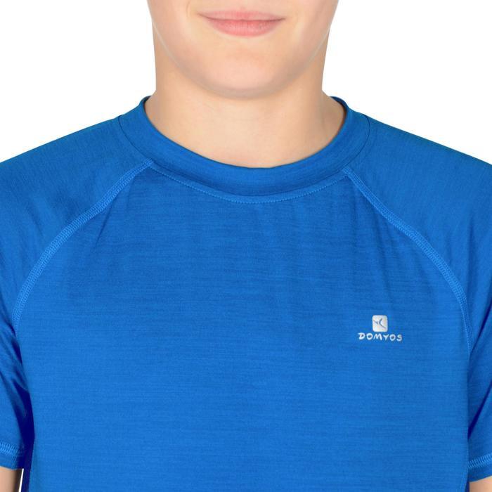T-Shirt manches courtes S900 Gym garçon marine - 1302279