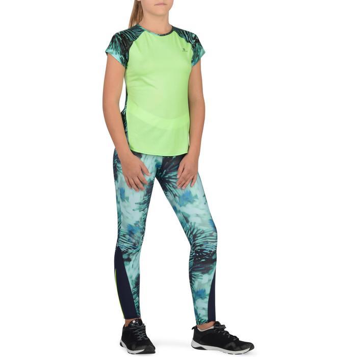 T-Shirt manches courtes S900 Gym Fille imprimé - 1302283