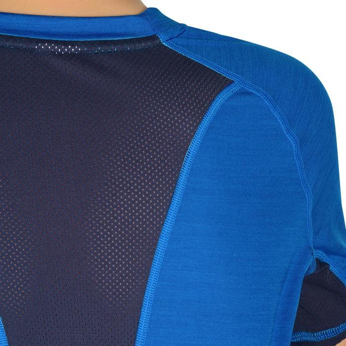 T-Shirt manches courtes S900 Gym garçon marine - 1302284