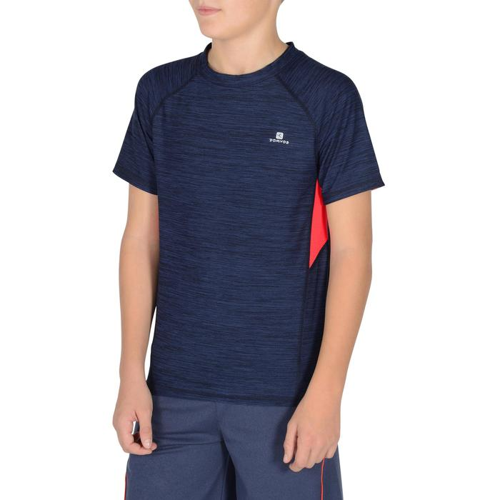 T-Shirt manches courtes S900 Gym garçon marine - 1302286