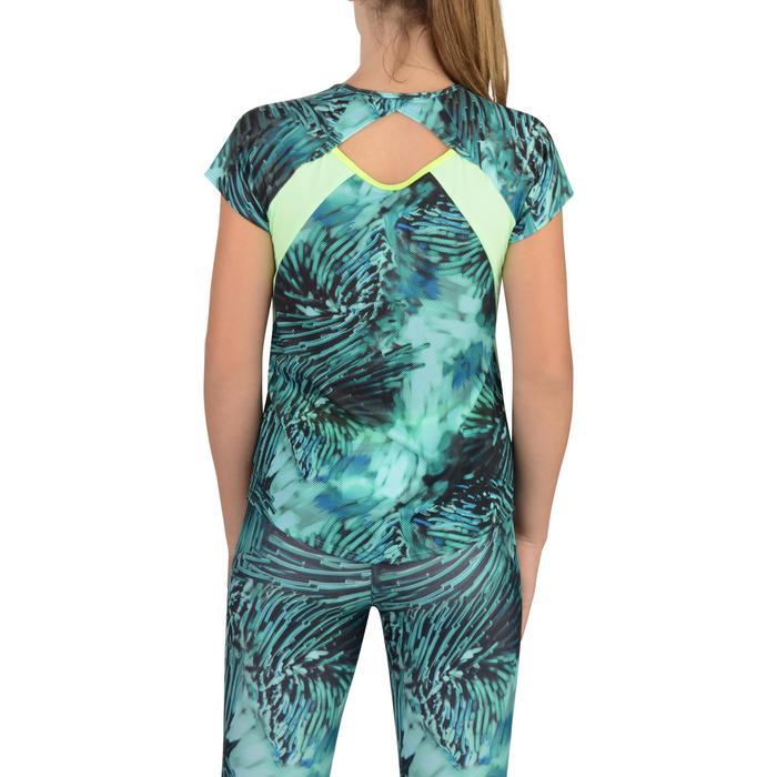 T-Shirt manches courtes S900 Gym Fille imprimé - 1302288