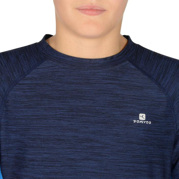 S900 Boys' Short-Sleeved Gym T-Shirt - Navy Blue - 1302292