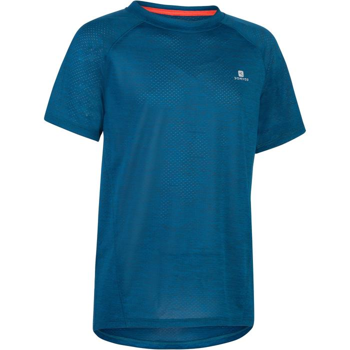 S500 Boys' Short-Sleeved Gym T-Shirt - Blue - 1302294