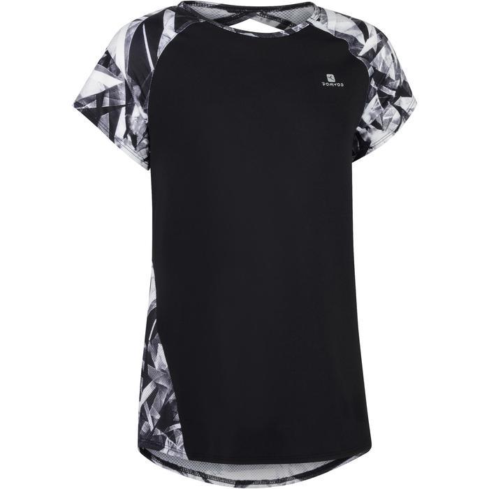 T-Shirt manches courtes S900 Gym Fille imprimé - 1302301