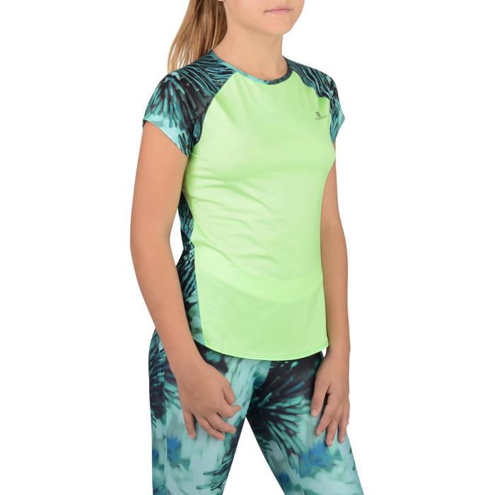 T-Shirt manches courtes S900 Gym Fille imprimé - 1302308
