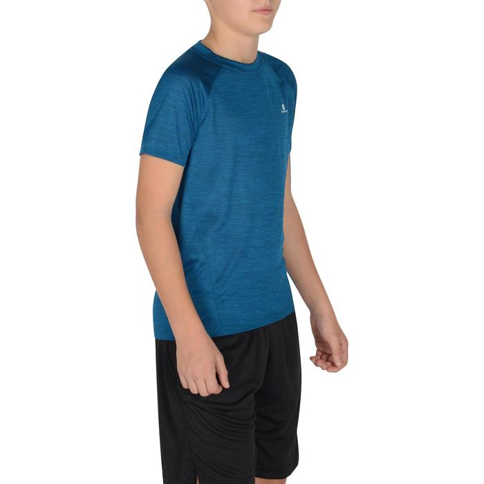 S500 Boys' Short-Sleeved Gym T-Shirt - Blue