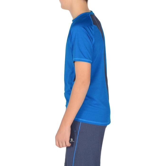 T-Shirt manches courtes S900 Gym garçon marine - 1302312