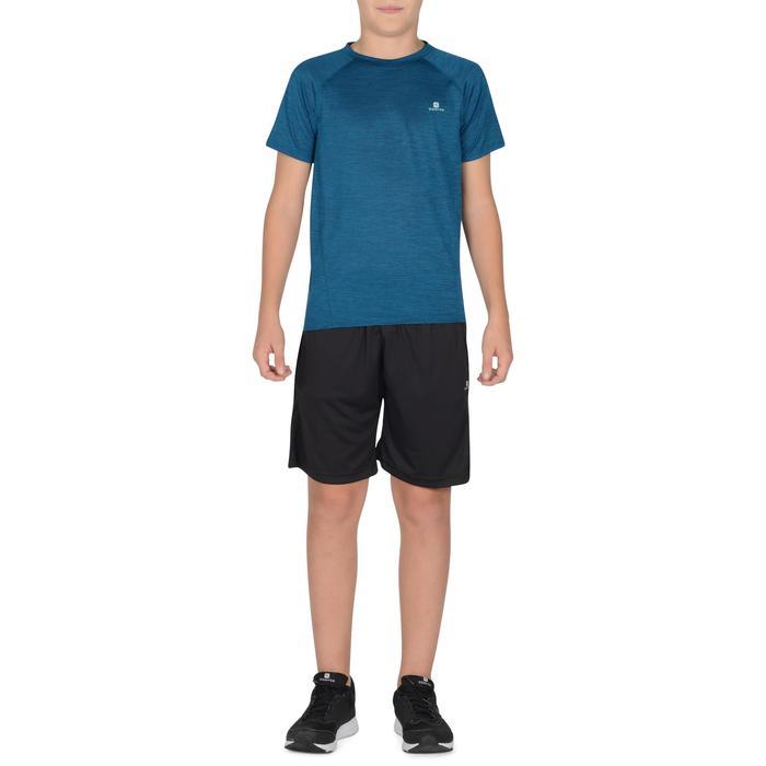 S500 Boys' Short-Sleeved Gym T-Shirt - Blue - 1302322
