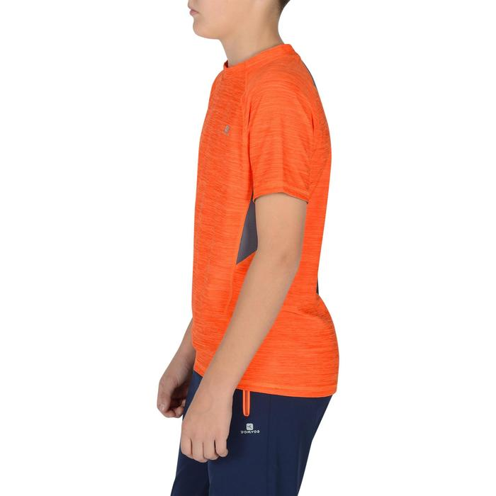 S900 Boys' Short-Sleeved Gym T-Shirt - Navy Blue - 1302326
