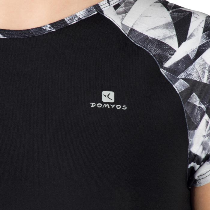 T-Shirt manches courtes S900 Gym Fille imprimé - 1302332