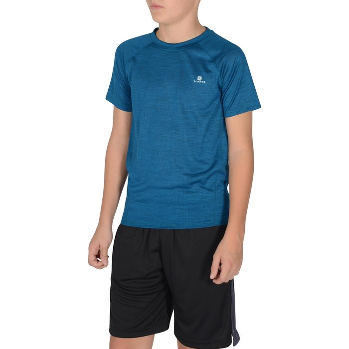 S500 Boys' Short-Sleeved Gym T-Shirt - Blue - 1302334