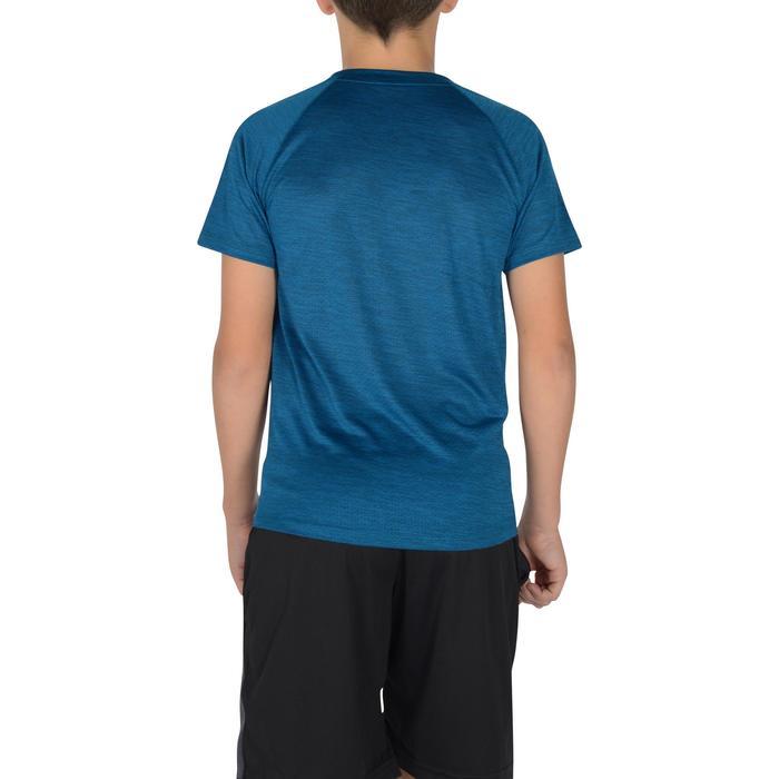 S500 Boys' Short-Sleeved Gym T-Shirt - Blue - 1302340