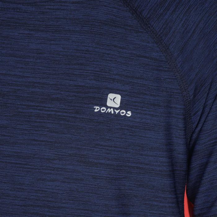 T-Shirt manches courtes S900 Gym garçon marine - 1302343