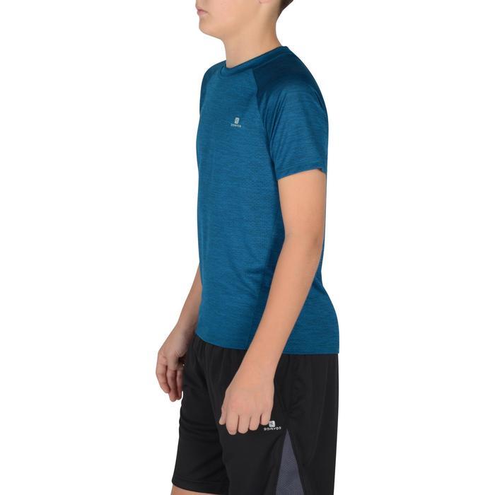 S500 Boys' Short-Sleeved Gym T-Shirt - Blue - 1302345