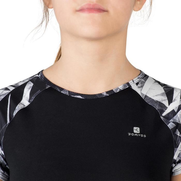 T-Shirt manches courtes S900 Gym Fille imprimé - 1302347