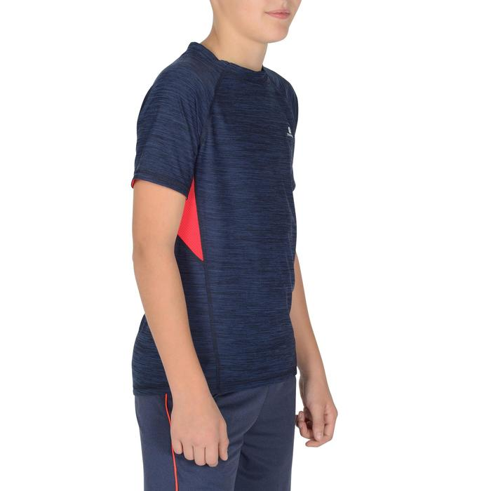 T-Shirt manches courtes S900 Gym garçon marine - 1302361