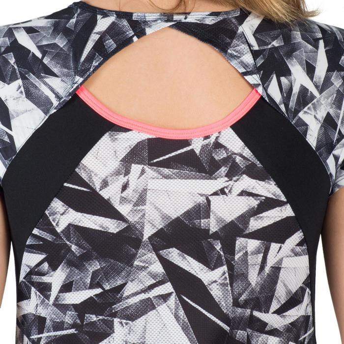 T-Shirt manches courtes S900 Gym Fille imprimé - 1302368