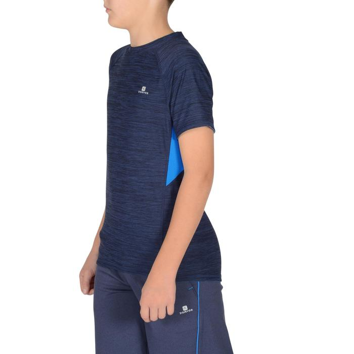 S900 Boys' Short-Sleeved Gym T-Shirt - Navy Blue - 1302372