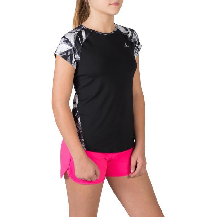 T-Shirt manches courtes S900 Gym Fille imprimé - 1302374
