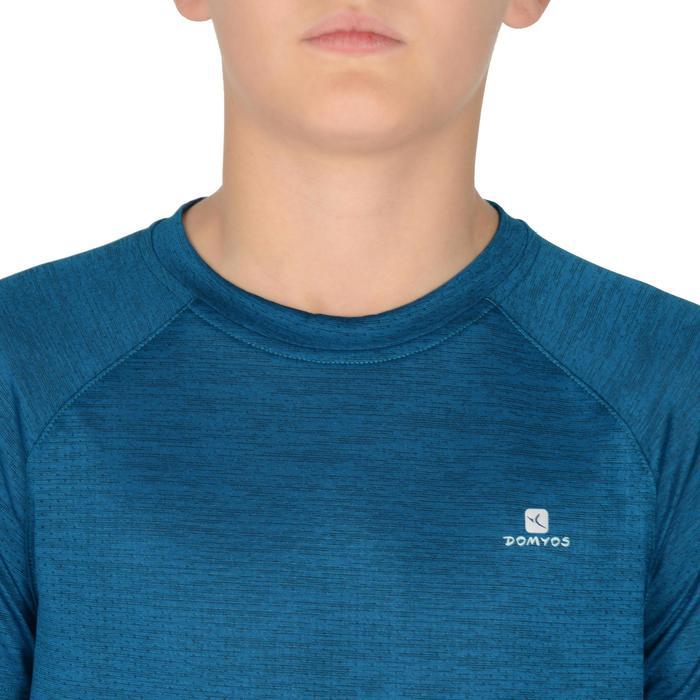 S500 Boys' Short-Sleeved Gym T-Shirt - Blue - 1302376