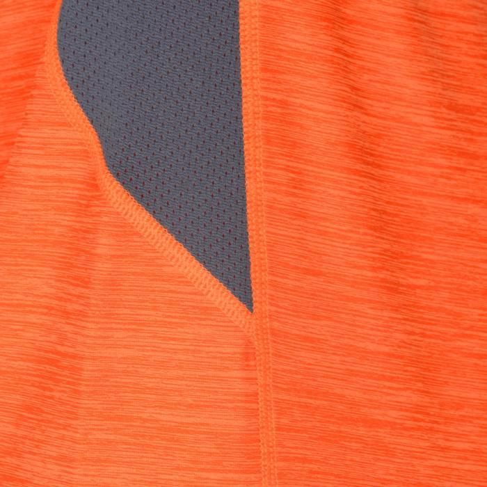 S900 Boys' Short-Sleeved Gym T-Shirt - Orange/Grey