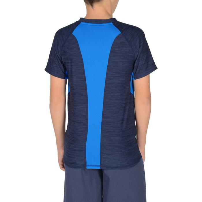 S900 Boys' Short-Sleeved Gym T-Shirt - Navy Blue - 1302386